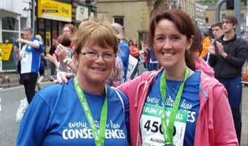 Pat and Alison 10k walk